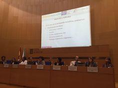 XIII Jornadas Expania en Santiago de Compostela, 2016. Mesa de Comunicaciones