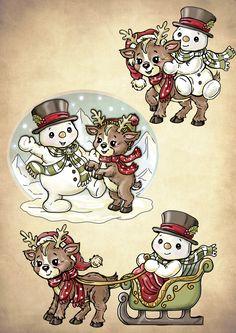 Christmas Clipart, Christmas Paper, Christmas Printables, Christmas Pictures, Christmas Snowman, Winter Christmas, Vintage Christmas, Christmas Time, Christmas Crafts