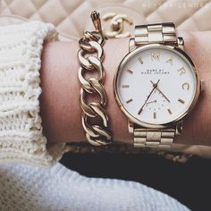"""alyssa-lenore:  i am absolutely in love with my new watch. mbmj """"baker"""" 36mm. <3"""