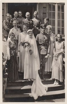Wedding of Prince Frederick of Prussia to Dorothea von Salviati.