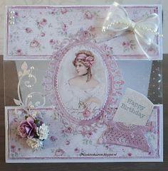 Nicolette's kaarten: Wilma is jarig