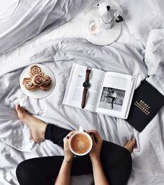 Kanelbullar and coffee for breakfast ❤