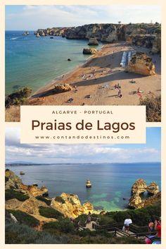 Praia do Camilo, Praia da D. Ana, Praia da Batata, Praia do Pinhão. Conheça as praias de Lagos, que fica no Algarve em Portugal. Uma região de praias lindas e de fácil acesso sem carro.