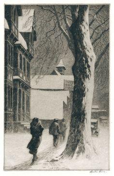 Winter on White Street.