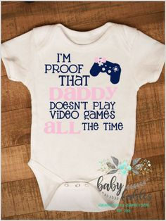 What an adorable little onesie! This makes a great baby shower gift and is the perfect outfit to wear home from the hospital. #affiliate #baby #pregnancyannouncementonesie,