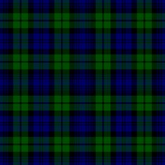 Campbell Clan tartan - Black Watch