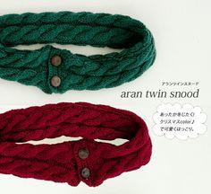 ff60f59d196f5 手編みしよう♪スヌードの簡単な編み方・編み図 棒針編み