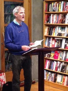 Peter Gery reads from HAVE at YOU NOW: Poems! #nola