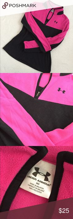 Under Armour Pullover Great condition! Fleece material! Under Armour Tops Sweatshirts & Hoodies
