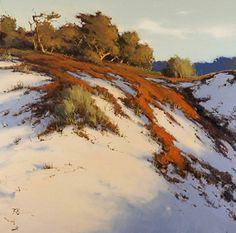 Dunes on Signal Hill by Brian Blood Oil ~ 40 x 40