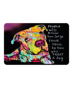 Look at this Black & Yellow 'People Will Know' Mat on #zulily today!