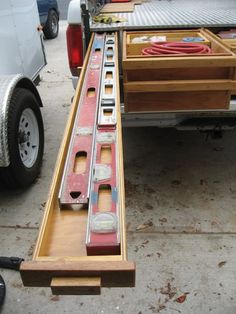 Neal's Way Cool Home-Made Truck Bed Storage - Tools of the Trade