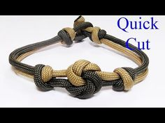 """How You Can Make A Chinese Button Knot Paracord Bracelet"" - YouTube"