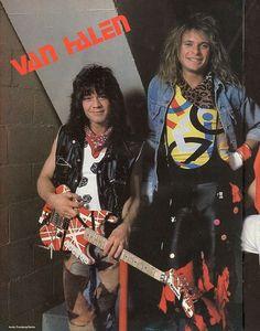 Eddie van Halen & David Lee Roth 1984