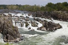 """As part of the """"Eight Natural Wonders of Virginia,"""" Great Falls is just 15 minutes outside Washington, D.C. Fifteen miles of trails run through the park and ..."""