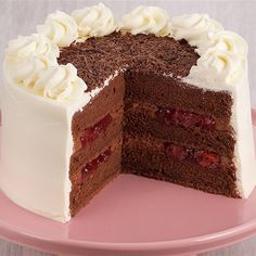 Try this Black Forest Torte recipe by Chef Anna Olson. This recipe is from the show Bake With Anna.