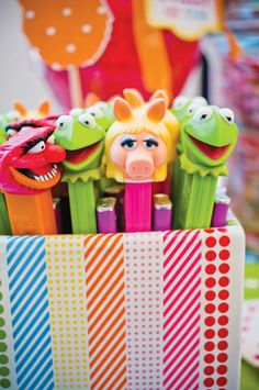 Muppets Themed Birthday Party
