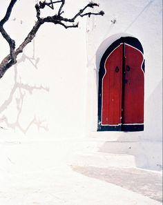 Tunis, Tunisia. #myobsessionwithreddoors