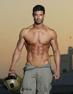 Matthew Jett Schaefer What's in his hand? The planet of the sexy hot men? Hot Men, Hot Guys, Sexy Guys, Men In Uniform, Raining Men, Good Looking Men, Male Beauty, Bodybuilder, Gorgeous Men