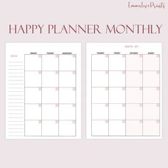 123 Best Happy Planner Inserts images in 2019 | Planner