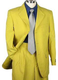 Men's #Long #Zoot #Suit in #Yellow for #$169 also known as ...