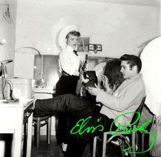 November 1956 Alis Lesley & Elvis Presley