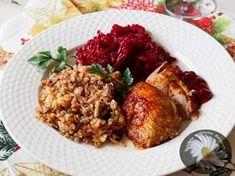 Kulinarne Szaleństwa Margarytki: Kaczka faszerowana kaszą gryczaną, jabłkami i żurawiną pieczona w garnku rzymskim