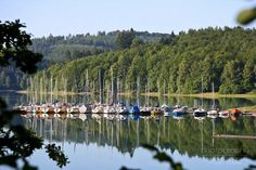 Hennesee in Meschede, Sauerland, Germany