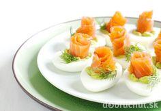 Vajíčka plnené wasabi
