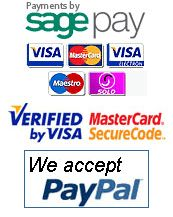 Payments By Sage Pay and Paypal
