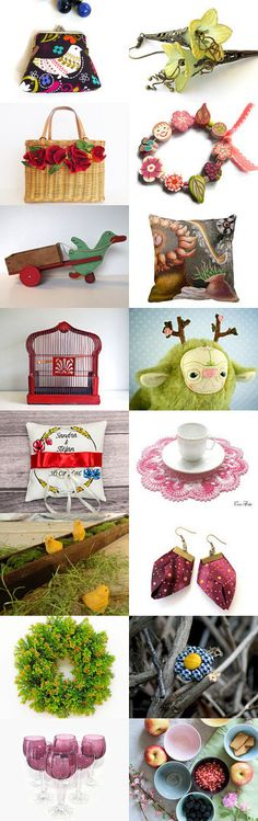Etsy Shopping Cart by GaranceCouture on Etsy--Pinned+with+TreasuryPin.com