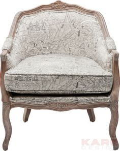 Arm Chair Bound for Paris