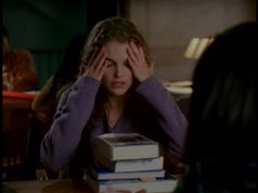 I know Felicity, this is how I feel about finals and school too.