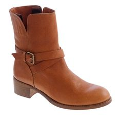 I love these boots! A Woman can conquer the world in the right pair of shoes ;-)  Ryder short leather buckle boots