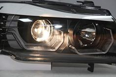 BMW E90 ANGEL EYES – Motowey Angel Eyes, Stay Cool, Led Headlights, Tail Light, Transportation, Bmw, Cool Stuff, Cool Things, Led Spot Light