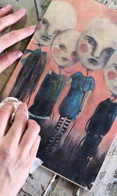 Näin onnistuu kuvansiirto eri pinnoille | Meillä kotona Watercolor Tattoo, Painting, Image Transfers, Journal Ideas, Macrame, Bullet Journal, Tips, Paint, Artworks
