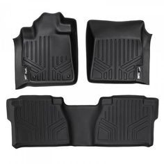 Custom Fit 3D Rubber Floor Mats for Toyota Tundra Double Cab (2007-2011) Complete Set
