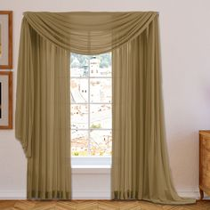 Conelley Sheer Curtain Panels