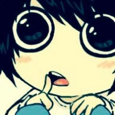 L -Death Note... CUTIE