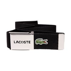 f786d4a814010 LACOSTE Web Fashion Belt Unisex Men Women New Defects in Box Metal Buckle   fashion  clothing  shoes  accessories  mensaccessories  belts (ebay link)