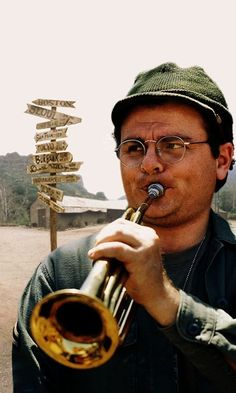 Gary Burghoff who played Radar O'Reilly from the TV Show M*A*S*H