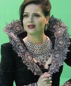 Regina Mills Evil Queen dress + necklace and jewelry