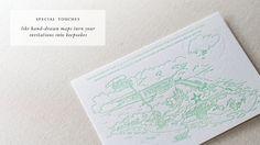 beautiful letterpress invites by paper tigress singapore