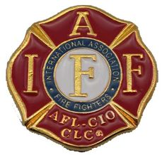 1061 IAFF Medallion 2 inches by 2 inches Chicago Fire Department and Chicago Police Department gifts.