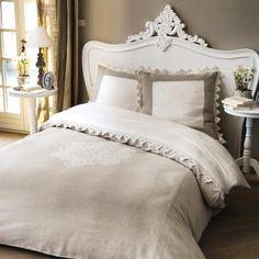 Testata da letto bianca in ... - Comtesse