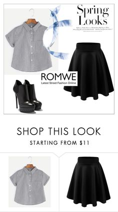 """""""Untitled #274"""" by zvoncica-fashion ❤ liked on Polyvore featuring H&M"""