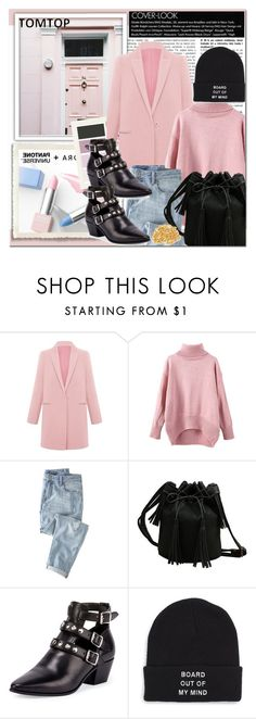 """Tomtop 10"" by emina-turic ❤ liked on Polyvore featuring Sephora Collection, Wrap, Yves Saint Laurent, Vans, vintage, women's clothing, women, female, woman and misses"