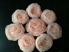 My/my bridesmaid's hair flowers! Julie was GREAT to work with... I would highly recommend her :)