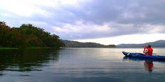 Kayaking the Gatun Lake at the Panama Canal