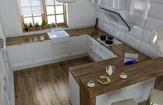 Wnętrza, Inspiracje kuchenne - Wszystkie kuchnie znalezione w sieci, które są dla mnie inspiracją do stworzenia własnej kuchni marzeń.